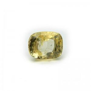 2.55 Carat/ 2.83 Ratti Natural Ceylon Yellow Sapphire Gemstone