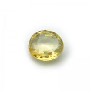 2.92 Carat/ 3.25 Ratti Natural Ceylon Yellow Sapphire Gemstone