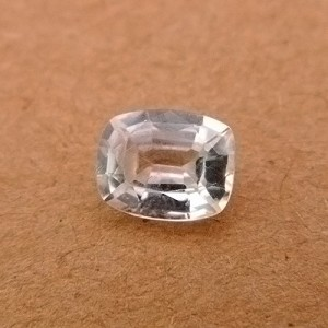 2.1 Carat/ 2.33 Ratti Natural Ceylon White Zircon Gemstone