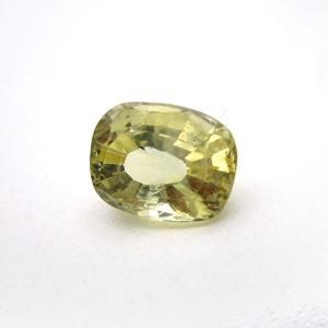 3.51 Carat/ 3.89 Ratti Natural Ceylon Yellow Sapphire (Pukhraj) Gemstone