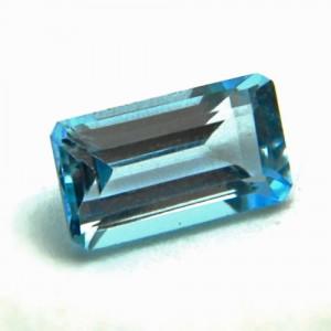 3.69 Carat/ 4.10 Ratti Natural Blue Topaz Gemstone