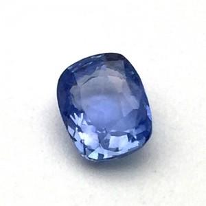 3.15 Carat/ 3.50 Ratti Natural Transparent Ceylon Blue Sapphire (Neelam) Gemstone
