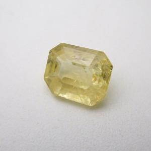 4.38 Carat/ 4.86 Ratti Natural Ceylon Yellow Sapphire (Pukhraj) Gemstone