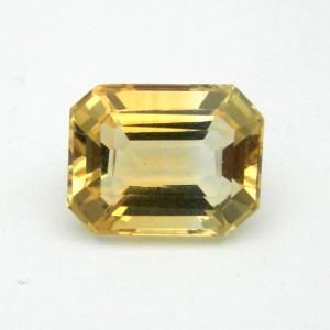 4.77 Carat/ 5.23 Ratti Natural Citrine (Sunela) Gemstone
