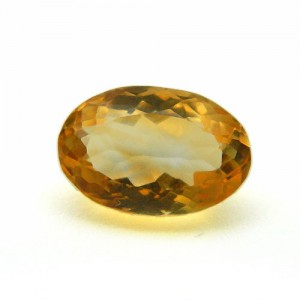 4.81 Carat/ 5.34 Ratti Natural Citrine (Sunela)  Gemstone
