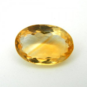 4.86 Carat/ 5.40 Ratti Natural Citrine (Sunela) Gemstone