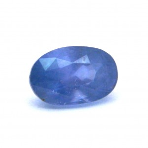 4.90 Carat/ 5.43 Ratti Natural Ceylon Blue Sapphire (Neelam) Gemstone