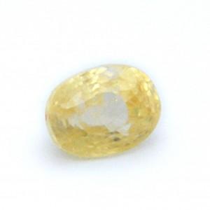 4.90 Carat/ 5.43 Ratti Natural Ceylon Yellow Sapphire Gemstone