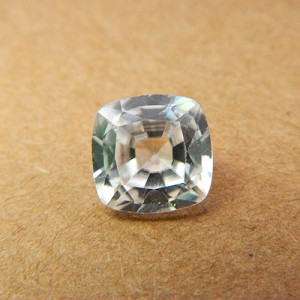 4.33 Carat/ 4.81 Ratti Natural Ceylon White Zircon Gemstone