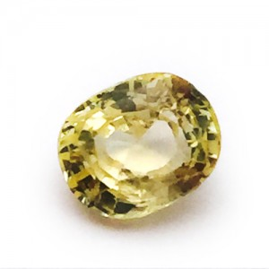 4.80 Carat/ 5.33 Ratti Natural Ceylon Yellow Sapphire (Pukhraj) Gemstone