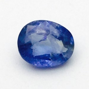 4.84 Carat  Natural Transparent Ceylon Blue Sapphire (Neelam) Gemstone