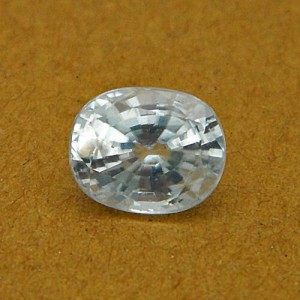 5.03 Carat/ 5.58 Ratti Natural Ceylon White Zircon Gemstone