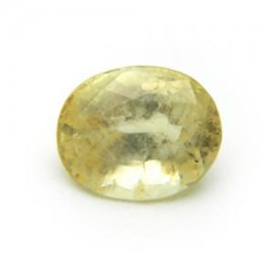 5.15 Carat/ 5.71 Ratti Natural Ceylon Yellow Sapphire (Pukhraj) Gemstone