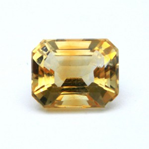 5.20 Carat/ 5.77 Ratti Natural Citrine (Sunela) Gemstone