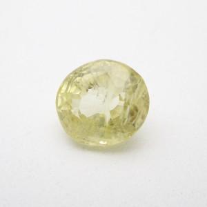 5.22 Carat/ 5.80 Ratti Natural Ceylon Yellow Sapphire (Pukhraj) Gemstone
