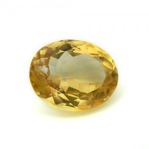 5.49 Carat/ 6.10 Ratti Natural Citrine (Sunela) Gemstone