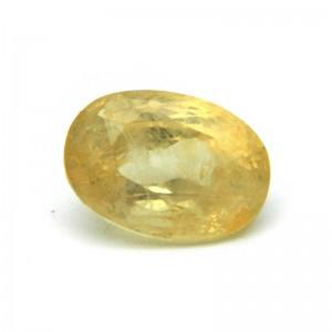 5.54 Carat/ 6.15 Ratti Natural Ceylon Yellow Sapphire Gemstone