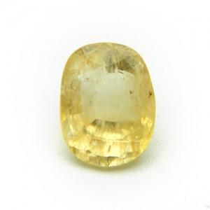5.67 Carat/ 6.29 Ratti Natural Ceylon Yellow Sapphire (Pukhraj) Gemstone