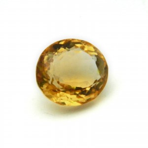 5.88 Carat/ 6.52 Ratti Natural Citrine (Sunela) Gemstone