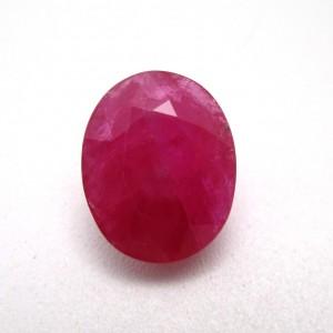 5.94 Carat/ 6.59 Ratti Natural African Ruby (Manik) Gemstone