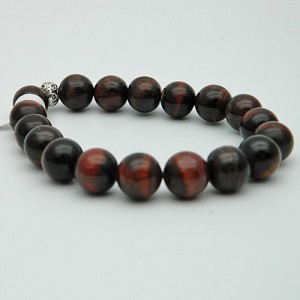 Red Tiger's Eye Gemstone Bracelet