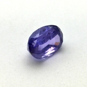 4.58 Carat Natural Purple Sapphire Gemstone From Sri Lanka