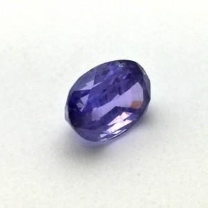 4.58 Carat Natural Purple Sapphire Gemstone From Sri Lanka
