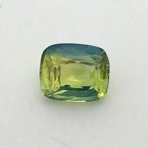 2.08 Carat Natural Parti Colored Sapphire (Pitambari) Gemstone
