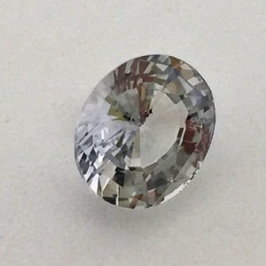 2.41 Carat  Natural Colorless Sapphire Gemstone