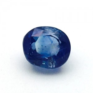 5.10 Carat  Natural Transparent Ceylon Blue Sapphire (Neelam) Gemstone