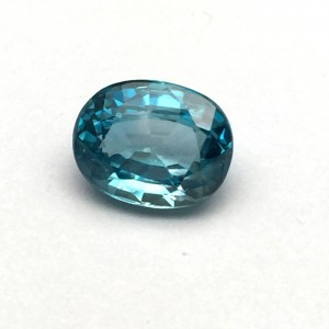 5.64 Carat/ 6.26 Ratti Natural Ceylon Blue Zircon Gemstone