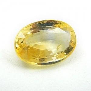 6.07 Carat/ 6.74 Ratti Natural Ceylon Yellow Sapphire (Pukhraj) Gemstone