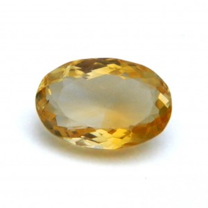 6.07 Carat/ 6.73 Ratti Natural Citrine (Sunela) Gemstone