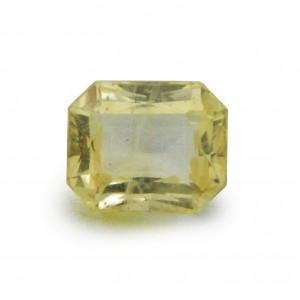 6.15 Carat/ 6.82 Ratti Natural Ceylon Yellow Sapphire (Pukhraj) Gemstone