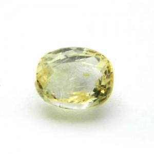 6.25 Carat/ 6.93 Ratti Natural Ceylon Yellow Sapphire (Pukhraj) Gemstone