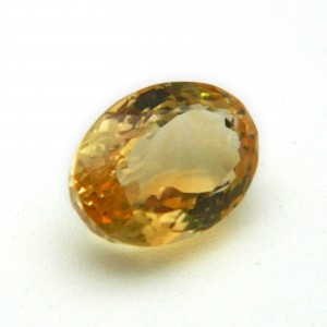 6.37 Carat/ 7.07 Ratti Natural Citrine (Sunela) Gemstone