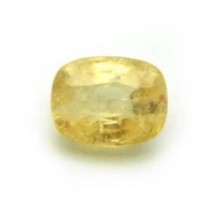 6.48 Carat/ 7.20 Ratti Natural Ceylon Yellow Sapphire (Pukhraj) Gemstone