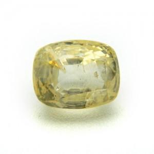 6.49 Carat/ 7.20 Ratti Natural Ceylon Yellow Sapphire (Pukhraj) Gemstone