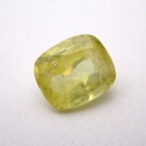 6.67 Carat/ 7.40 Ratti Natural Ceylon Yellow Sapphire (Pukhraj) Gemstone