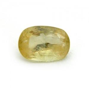 6.76 Carat/ 7.50 Ratti Natural Ceylon Yellow Sapphire (Pukhraj) Gemstone