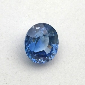 3.99 Carat  Natural Blue Sapphire (Neelam) Gemstone