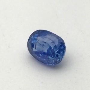 4.97 Carat  Natural Blue Sapphire (Neelam) Gemstone