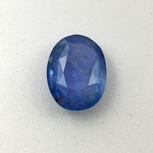 5.60 Carat  Natural Transparent Blue Sapphire (Neelam) Gemstone
