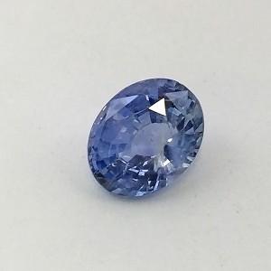 4.99 Carat  Natural Transparent Blue Sapphire (Neelam) Gemstone