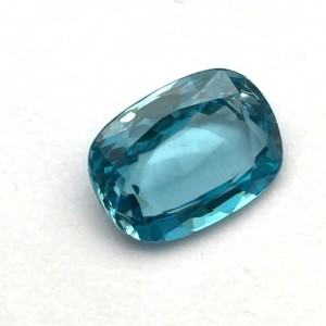 6 Carat/ 6.66 Ratti Natural Ceylon Blue Zircon Gemstone