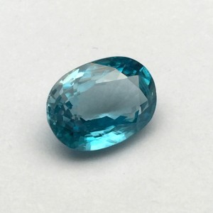 6.7 Carat/ 7.44 Ratti Natural Ceylon Blue Zircon Gemstone