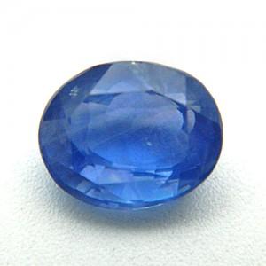7.02 Carat/ 7.80 Ratti Natural Ceylon Blue Sapphire (Neelam) Gemstone