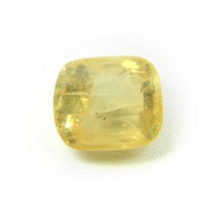 7.17 Carat/ 7.95 Ratti Natural Ceylon Yellow Sapphire (Pukhraj) Gemstone