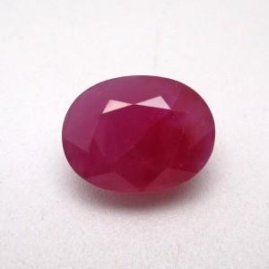 7.32 Carat/ 8.12 Ratti Natural African Ruby (Manik) Gemstone