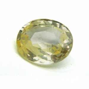 7.40 Carat/ 8.21 Ratti Natural Ceylon Yellow Sapphire (Pukhraj) Gemstone